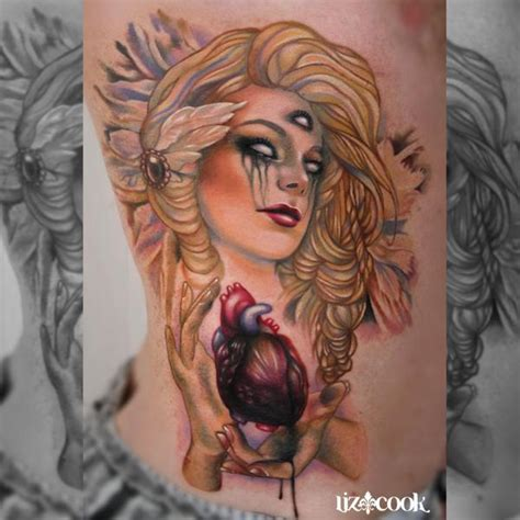 third eye tattoo instagram third eye girl by liz cook tattoonow