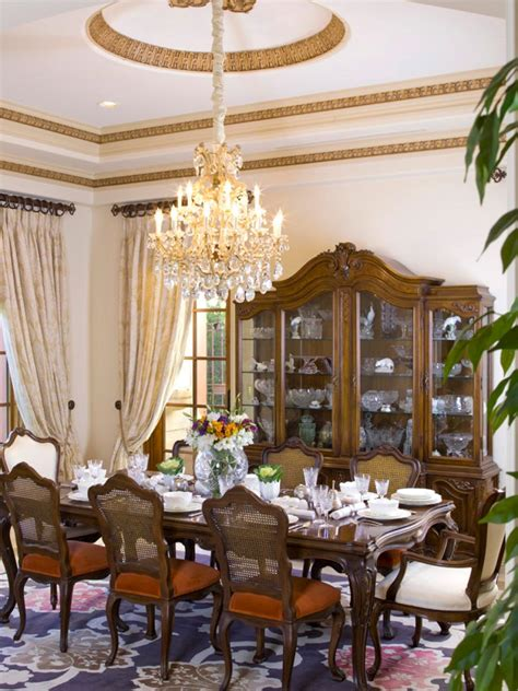dining room designs with simple and elegant chandilers 8 elegant victorian style dining room designs hgtv