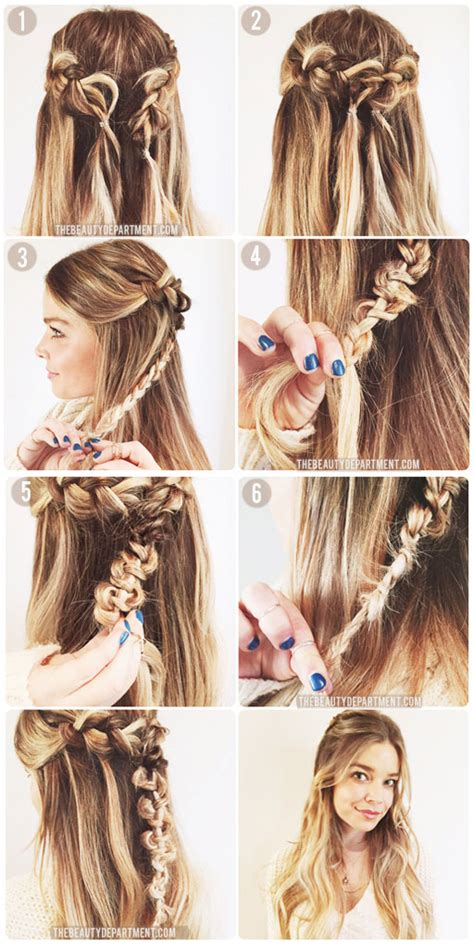 Macrame Hair Braid - the department your daily dose of pretty the