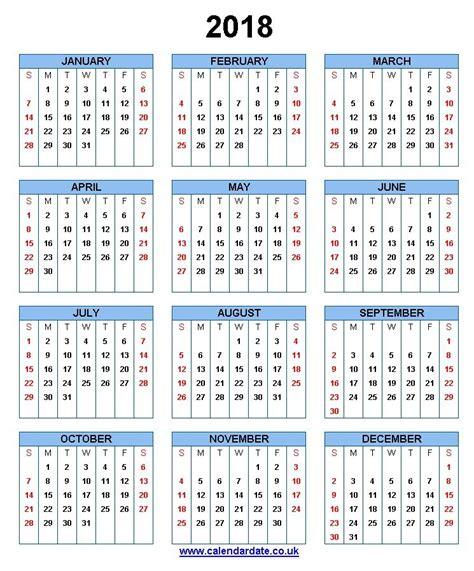 Calendários 2018 Feriados 2018 Calend 193