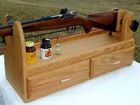 woodworking projects rifle cleaning stand plans