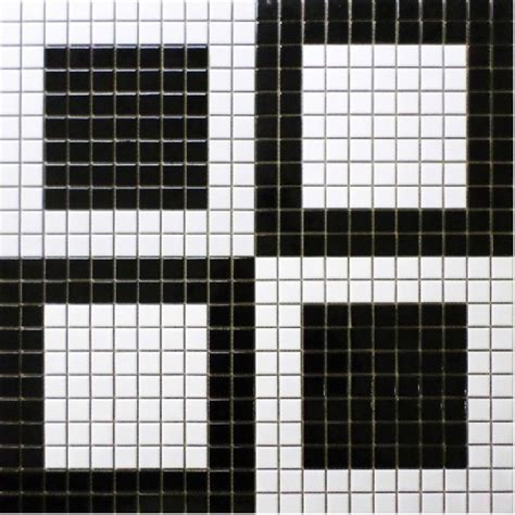 mosaic pattern black and white simple bathroom design black and white floor mosaic tiles