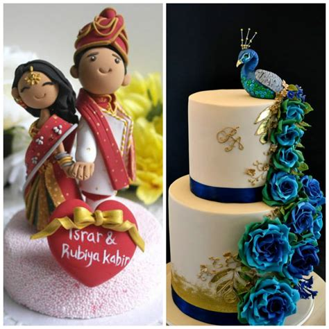 Peacock Home Decor by Cutesy Indian Wedding Cake Designs To Add A Desi Touch