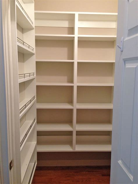 custom pantry storage spice rack shelves closet
