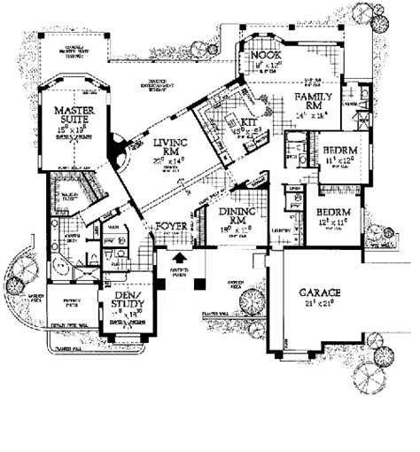 spanish floor plans unique spanish style floorplan home floor plans