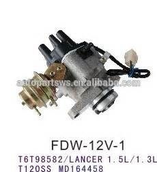 ignition distrubitor for mitsubishi lancer 4g15 t6t98582 t120ss md164458 buy distrubutor for