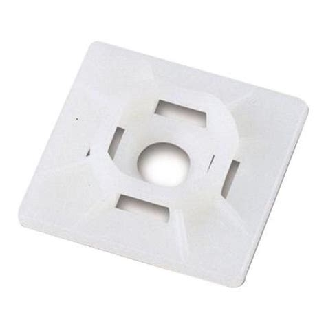commercial electric 1 in x 1 in mounting pad
