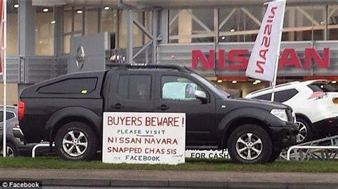 nissan navara 2005 problems nissan is urged to recall its popular 4x4 navaras daily
