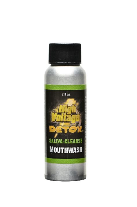 High Times Detox by High Voltage Detox Mouthwash Smoke Shop