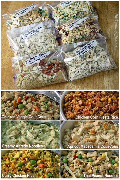 emergency ideas 6 instant meals on the go just add boiling water