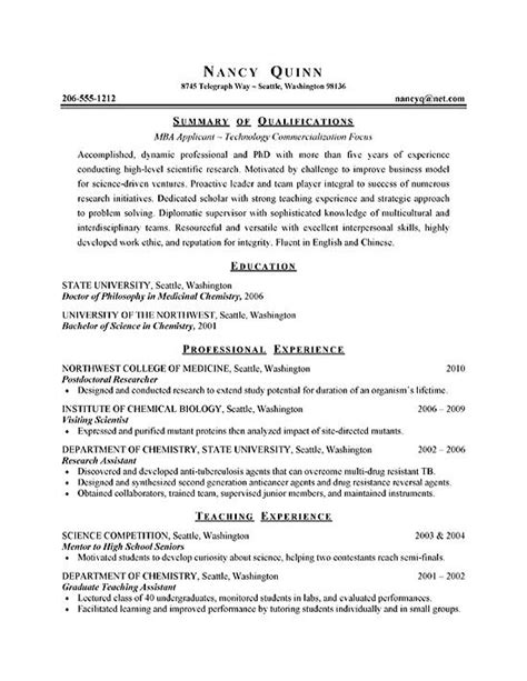 phd student resume sample student resume for internship graduate