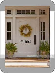 front door numbers reserved listing for deanna sirkoch by by delicateexpressions