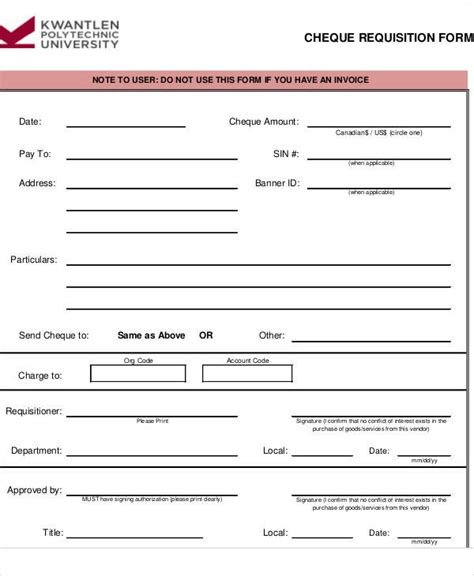 payment form template 42 requisition form exles sle templates