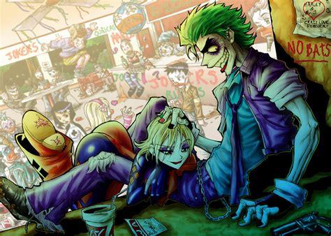 imagenes de joker y arlequin joker arlequin and the jokers by ed yarashi on deviantart