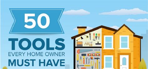 Every Home by 50 Tools Every Home Owner Must