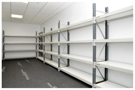 long span shelving aussie shelves bos storage systems