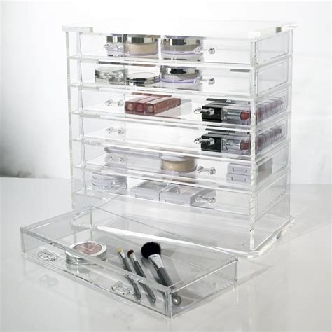Clear Drawers For Makeup by Clear Acrylic Makeup Organizer Mycosmeticorganizer