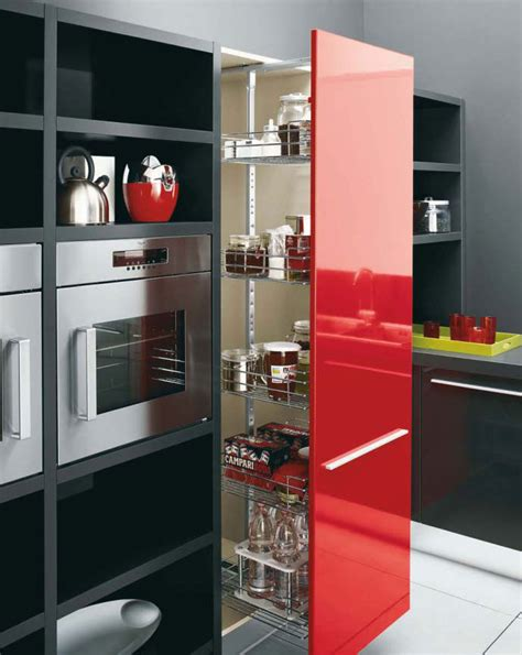 red kitchen decor white black and red kitchen design gio by cesar digsdigs