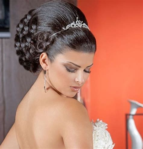 Arabic Wedding Hairstyles by Arabic Bridal Hairstyles Lebanese Hairstyles For