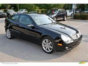 Mercedes C 230 Kompressor 2005 Black Mercedes C 230 Kompressor Coupe 5325019