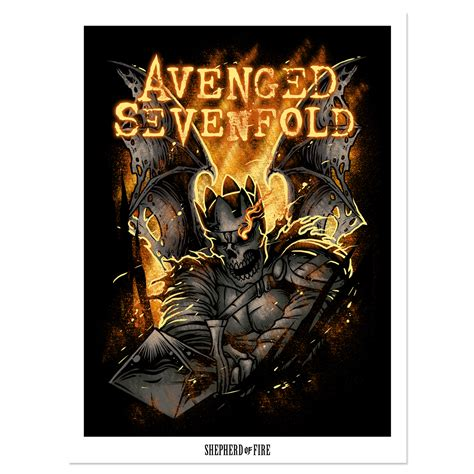 Poster Band Musik Jumbo Avenged Sevenfold A7x Pl12 a7x