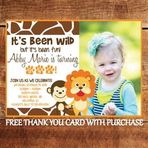 printable jungle theme birthday invitations safari theme first birthday invitation jungle animal