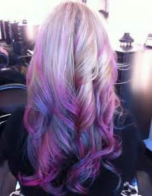 purple hair color vpfashion