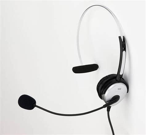 Enzatec Single Headset Hs 103 monaural noise cancelling headset 1 ear