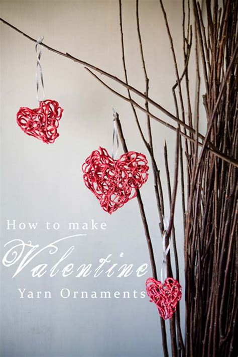 heart decorations for the home 38 easy valentine decor ideas