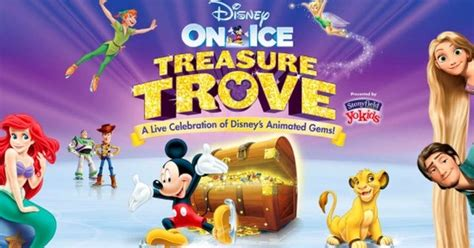Trove Giveaway Codes 2016 - disney on ice presents treasure trove giveaway cleverly catheryn