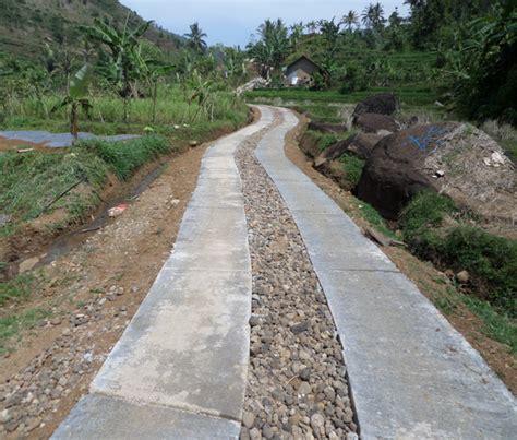 Pembangunan Masyarakat Pedesaan teknologi pembangunan masyarakat pedesaan jalan bagus