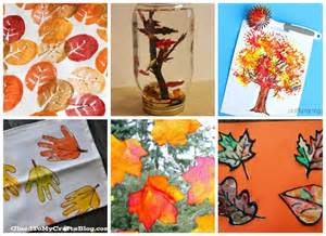 Crafts With Leaves For Kids - 18 fall leaf crafts for kids i heart arts n crafts