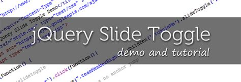 tutorial jquery toggle jquery slidetoggle tutorial and live demo wordimpress