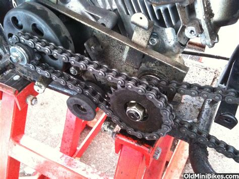 doodlebug jackshaft baja 165 jackshaft problem need advice page 3