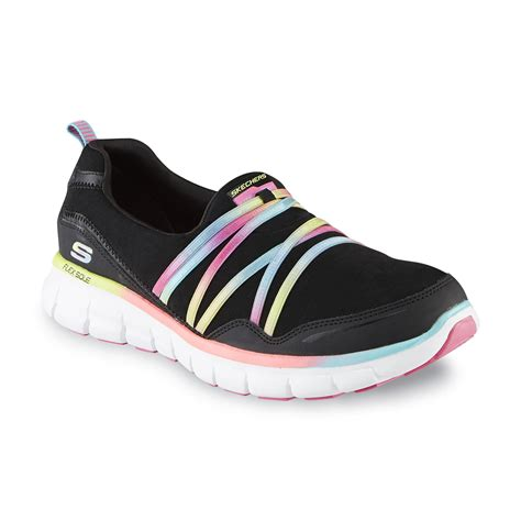 skechers multi color shoes skechers s stealer black multicolor athletic