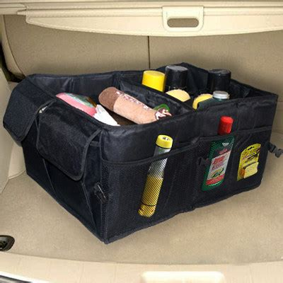 Big Car Organizer Rb large size car rear storage tool holder trip foldable mini interior storage box auto rear