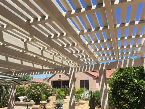 alumawood lattice patio cover thirteen alumawood laguna lattice gallery aaa sun control