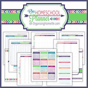 Home Planning back to school printable organizing bundle sale from