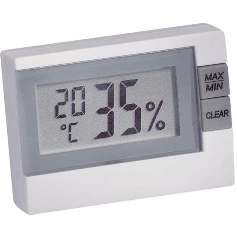 Thermometer Hygrometer Digital thermo hygrometer tfa 30 5005 white from conrad electronic uk