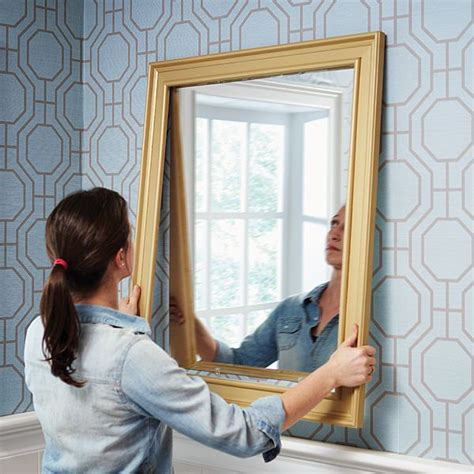 how to hang a framed bathroom mirror best 25 crown molding mirror ideas on pinterest crown