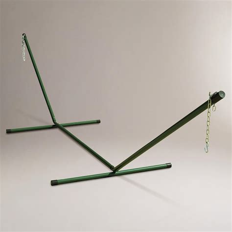 One Person Hammock With Stand Green 2 Person Hammock Stand World Market