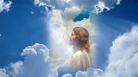 imagenes de dios en 3d jezus światło chmury gołąb