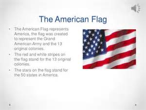 what do the colors of the american flag represent important american symbols