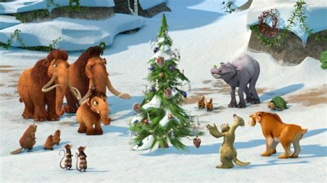 Ice Age Mammoth Christmas Cast | ice age a mammoth christmas special blu ray dvd review