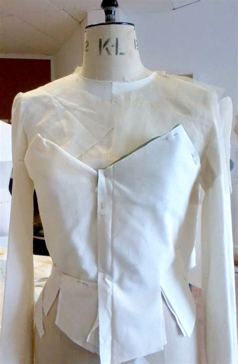 what is draping in fashion design draping on the stand to develop a jacket shape draping