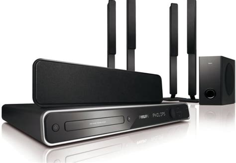 philips dvd home theater system hts3568 for sale in ongar