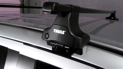 How To Remove Thule Roof Rack by Mitsubishi Outlander Outfitted With Thule Roof Rack By