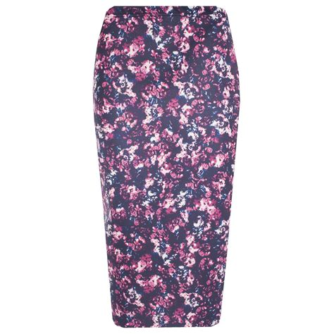 Wst 19244 Color Size M L Floral Frill Blouse Bs271017 Import Vn159 new womens floral frill midi bodycon skirt pencil