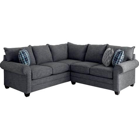 bassett alex sofa bassett alex 2 pc sectional sofas couches home