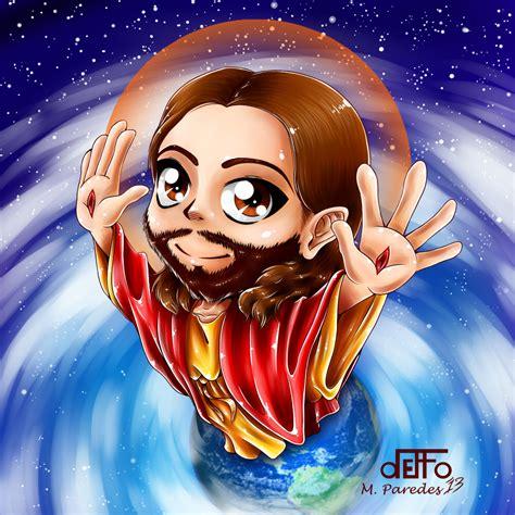 Anime Jesus by Jesus By Deffoneitor2000 On Deviantart